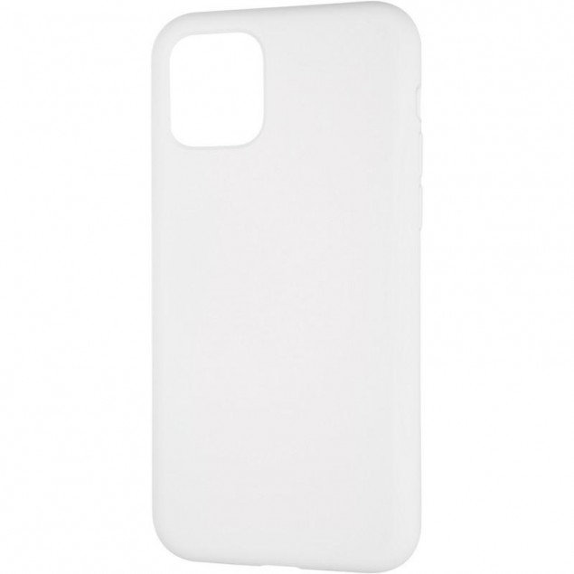 Original Full Soft Case for iPhone 11 Pro White (without logo)