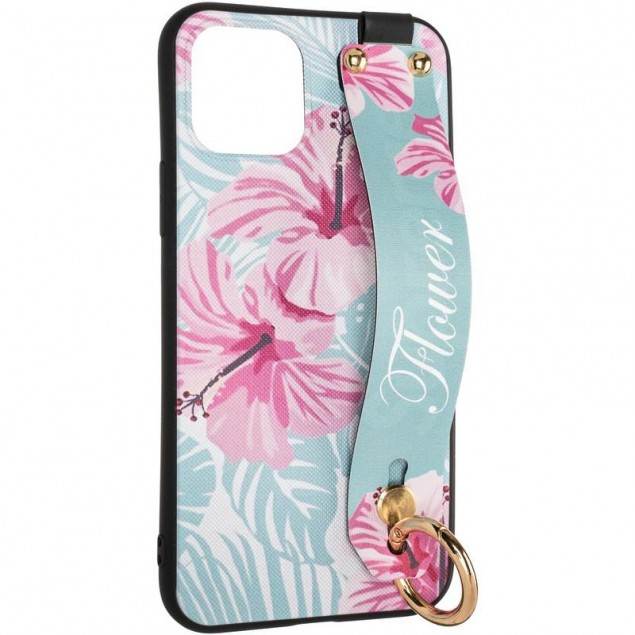 Flower Rope Case for iPhone 11 Pro Blue