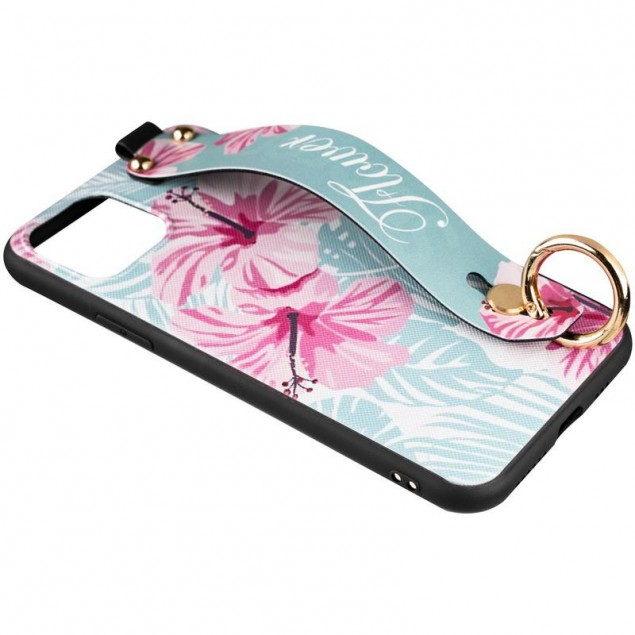 Flower Rope Case for Samsung A115 (A11) Blue