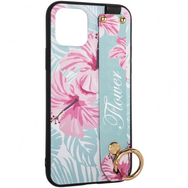Flower Rope Case for Samsung A315 (A31) Blue