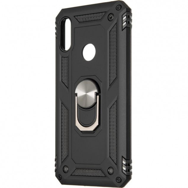 HONOR Hard Defence Series New for Huawei Y6s (2019)/Y6 Prime (2019)/Honor 8a Black