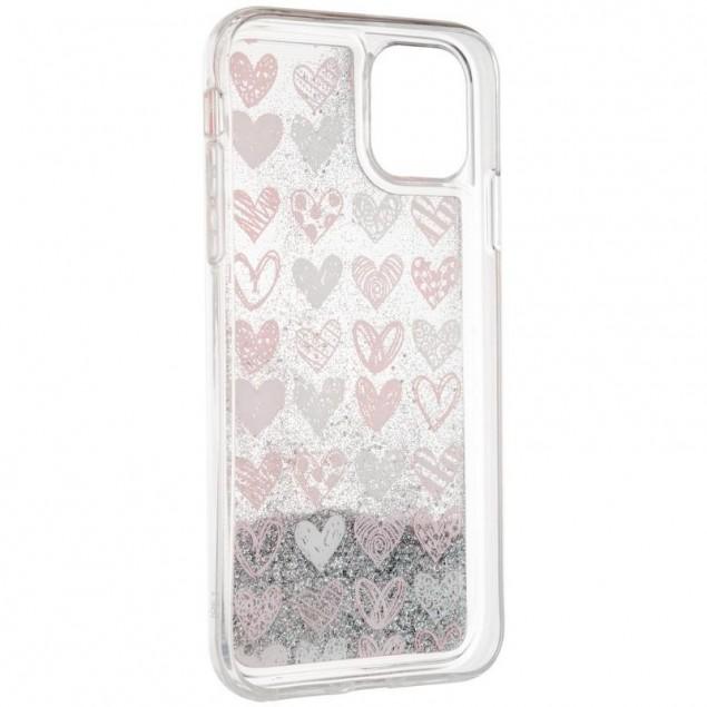 Aqua Case for Samsung M307 (M30s)/M215 (M21) Hearts