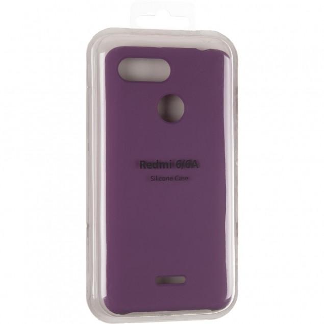 Original 99% Soft Matte Case for Xiaomi Redmi 6 Violet