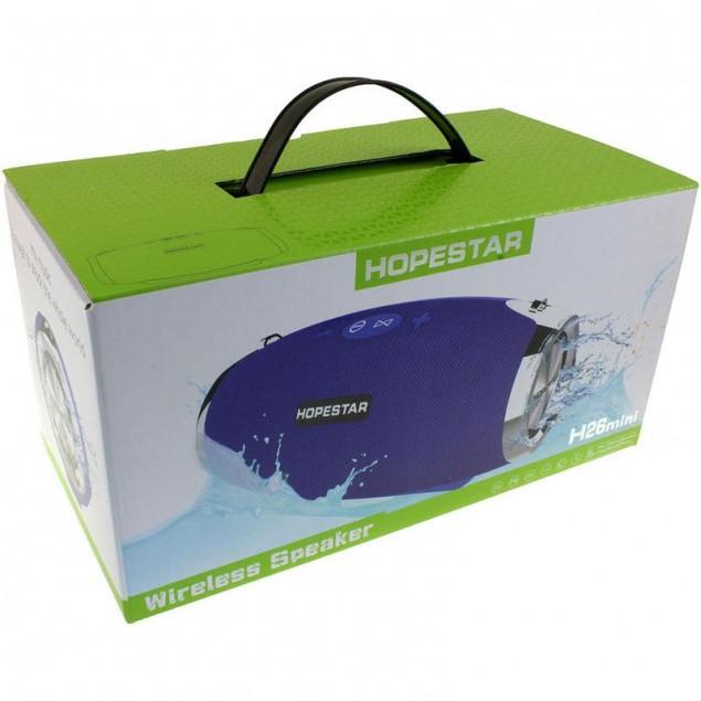 Bluetooth Колонка Hopestar H26 Mini Blue