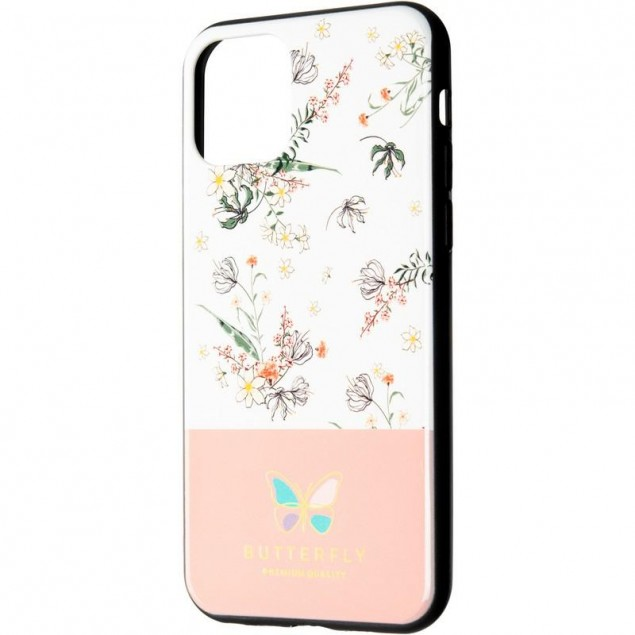 Butterfly Case for Xiaomi Redmi Note 7 Pink