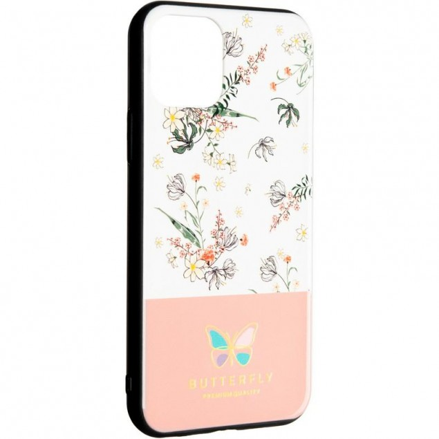 Butterfly Case for Xiaomi Redmi Note 8 Pink