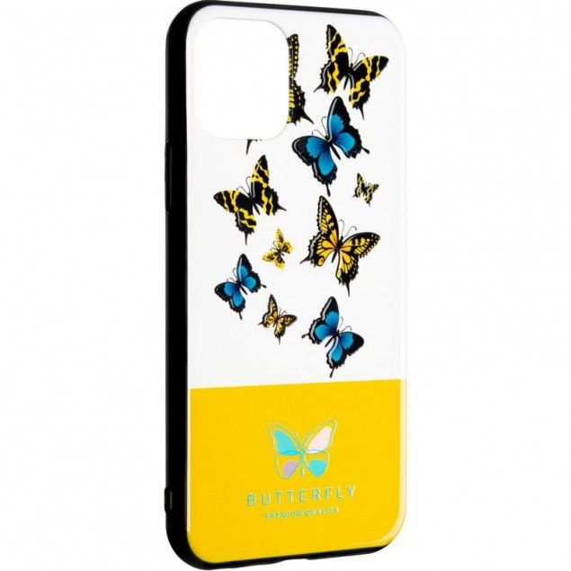 Butterfly Case for iPhone 11 Pro Yellow