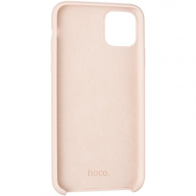 Hoco Pure Series Protective Case for iPhone 11 Pro Max Pink
