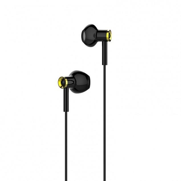 HF Hoco M47 Black + mic + button call answering + volume control