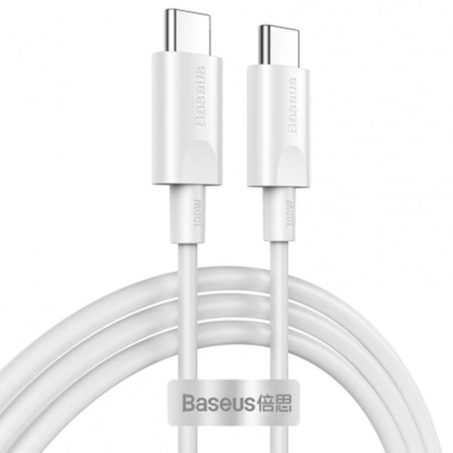 Cable Baseus Xiaobai Series Type-C/Type-C (CATSW-D02) White 1.5m