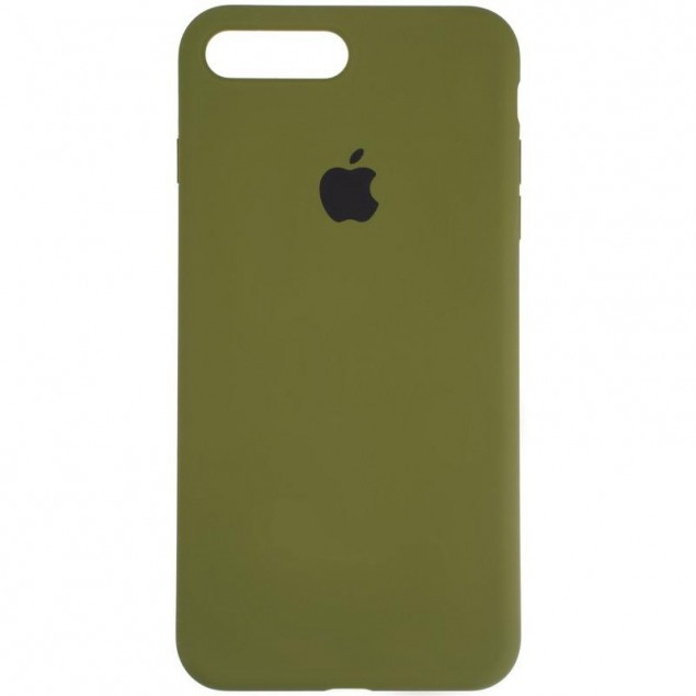 Original Full Soft Case for iPhone 7 Plus/8 Plus Pinery Green