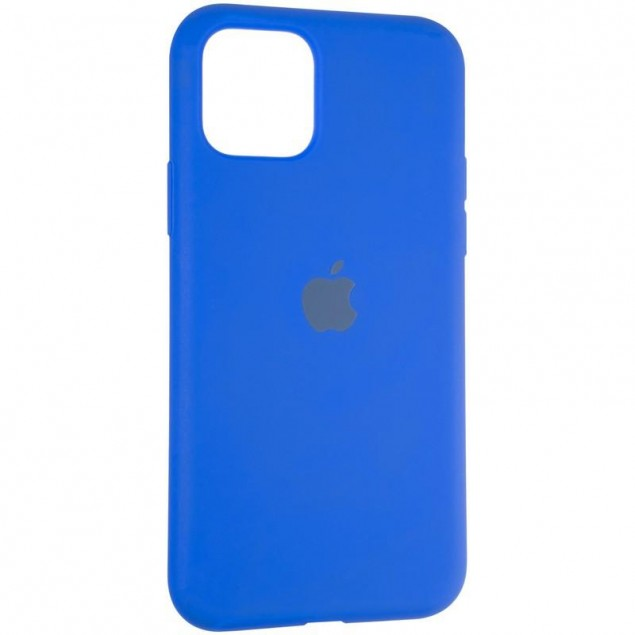 Original Full Soft Case for iPhone 11 Pro Sapphire Blue
