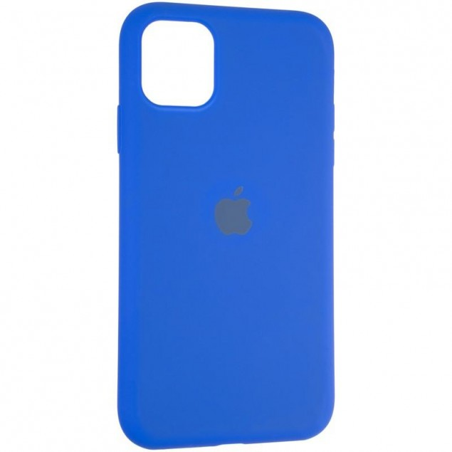 Original Full Soft Case for iPhone 11 Sapphire Blue
