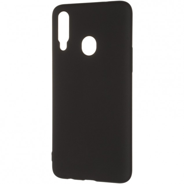 Original 99% Soft Matte Case for Samsung A207 (A20s) Black
