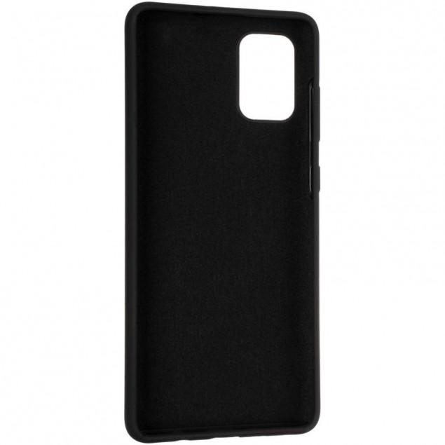 Original 99% Soft Matte Case for Samsung A715 (A71) Black