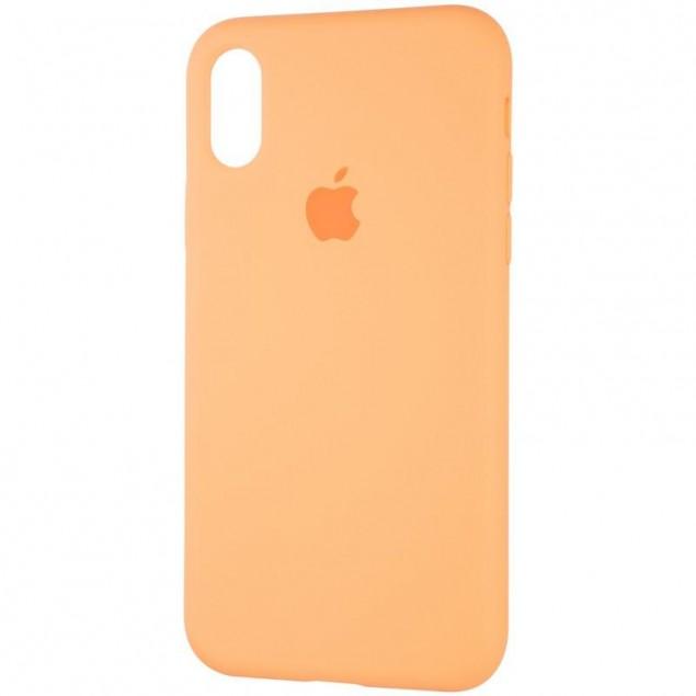 Original Full Soft Case for iPhone X/XS Papaya