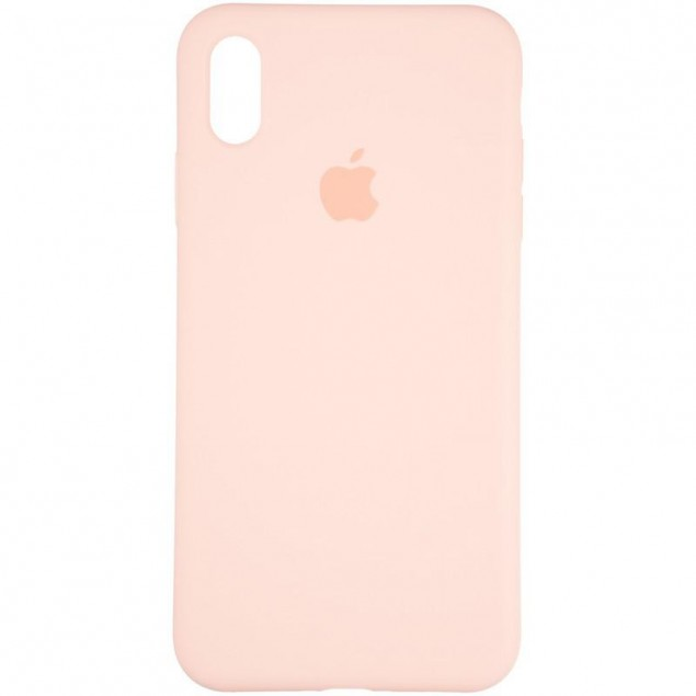 Original Full Soft Case for iPhone X/XS Pink Sand