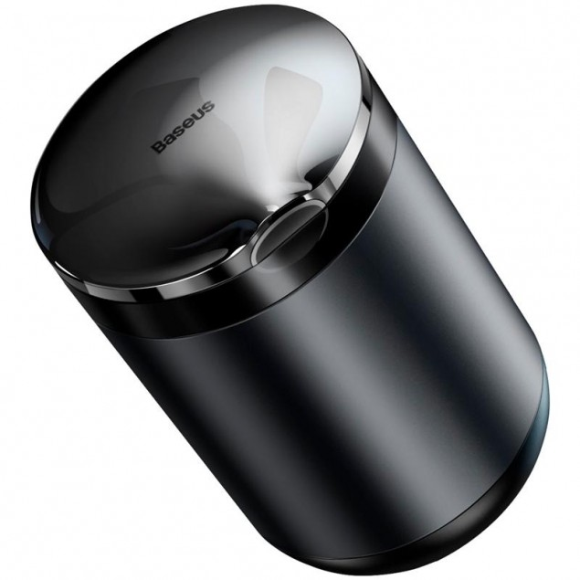 Baseus Premium Car Ashtray Black/Grey (CRYHG01-0G) (Автомобильная пепельница)
