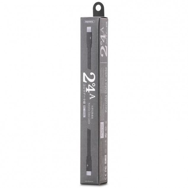 Cable Remax (OR) Kerolla RC-094c Type-C -> Lightning Black 1m