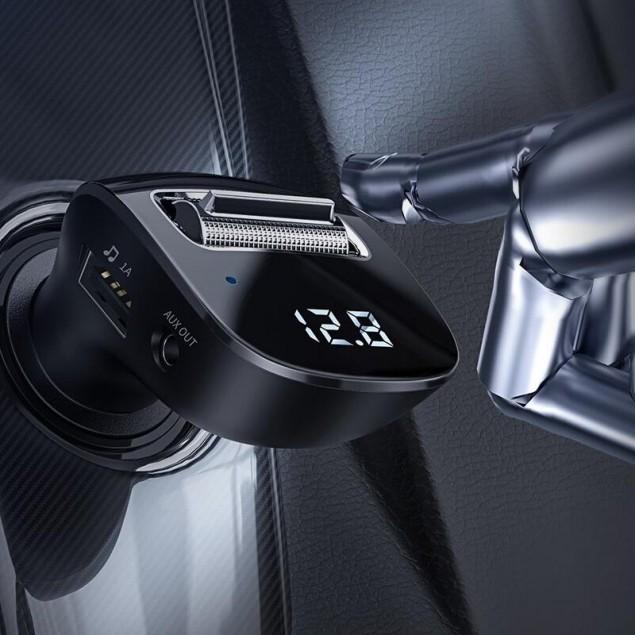 FM Modulator Baseus Streamer F40 AUX Wireless MP3 Charger (CCF40-01) Black