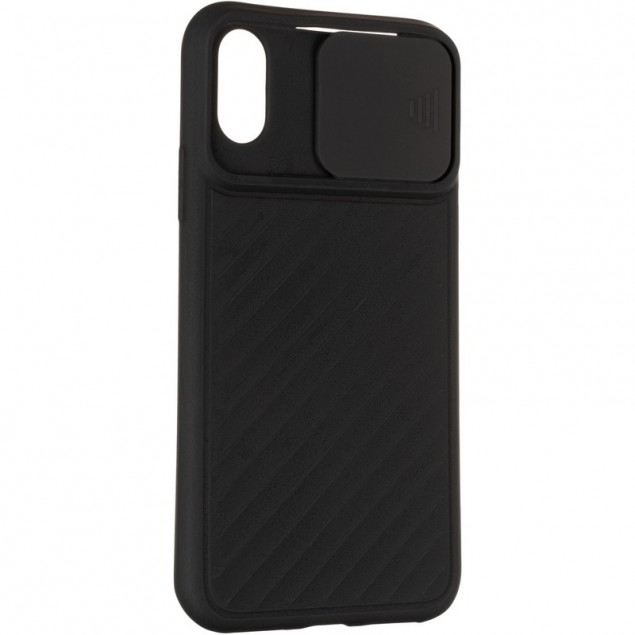 Carbon Camera Air Case for iPhone X/XS Black