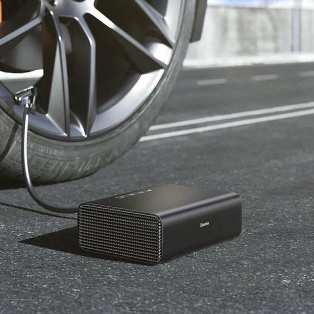 Baseus Smart Inflator Pump Black (CRCQB01-01) (Автомобильный насос)
