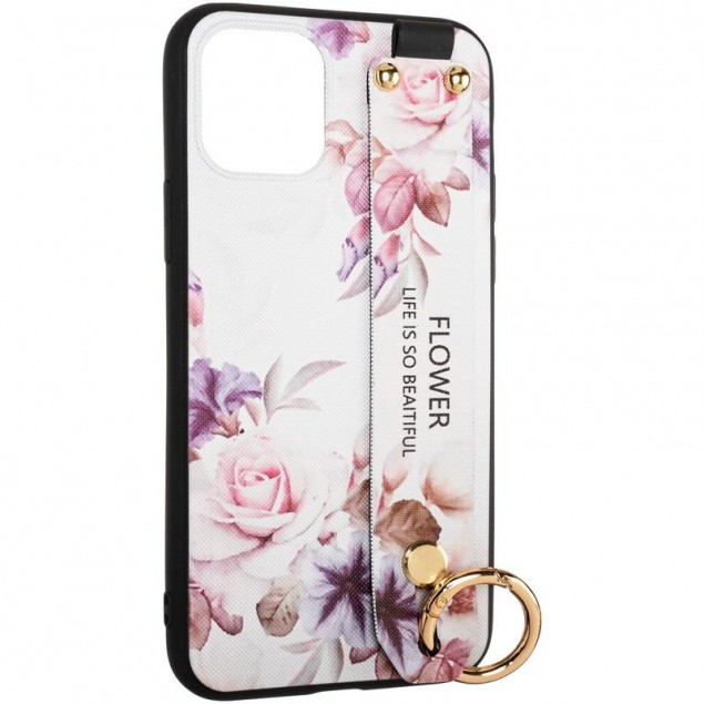 Flower Rope Case for iPhone X/XS White