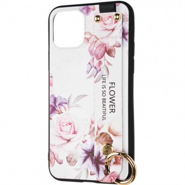 Flower Rope Case for iPhone 11 Pro White