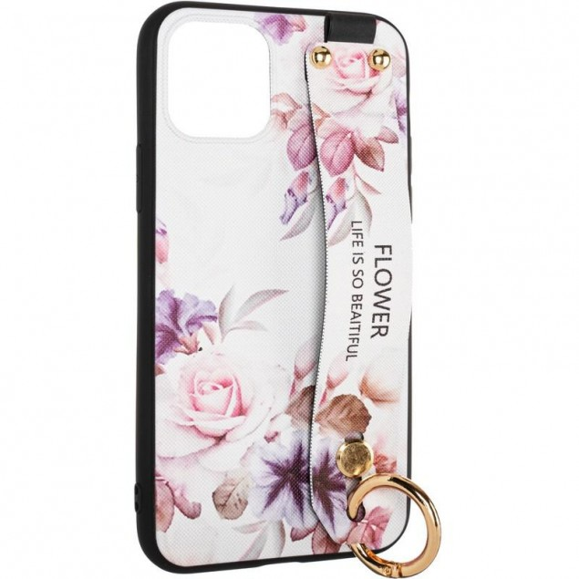 Flower Rope Case for Samsung A115 (A11) White