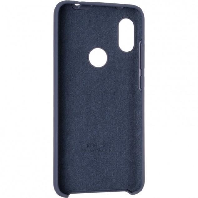 Original 99% Soft Matte Case for Xiaomi Redmi Note 6 Pro Dark Blue