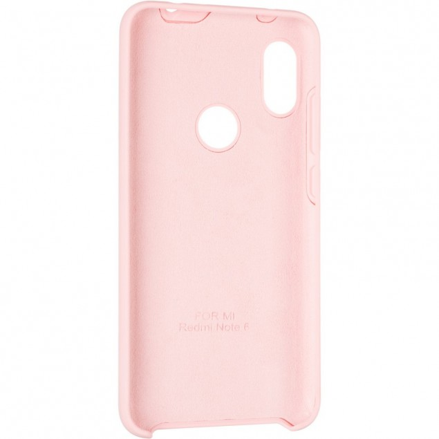 Original 99% Soft Matte Case for Xiaomi Redmi Note 6 Pro Pink