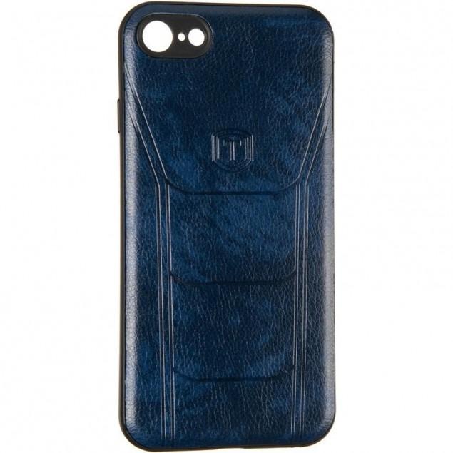 Leather Prime Case for Xiaomi Redmi 7 Blue
