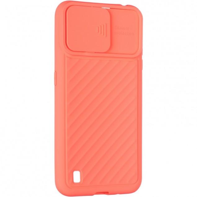 Carbon Camera Air Case for Samsung A015 (A01) Orange