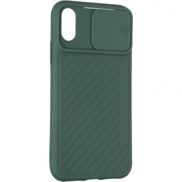 Carbon Camera Air Case for iPhone X/XS Green