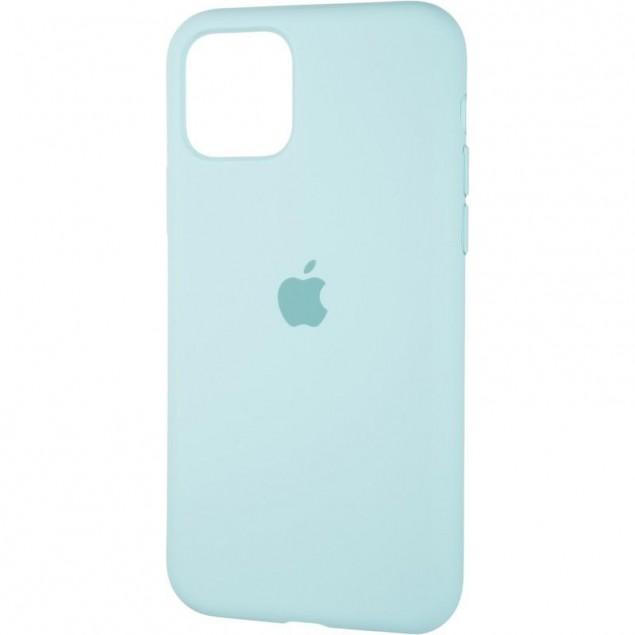 Original Full Soft Case for iPhone 11 Pro Ice Sea Blue