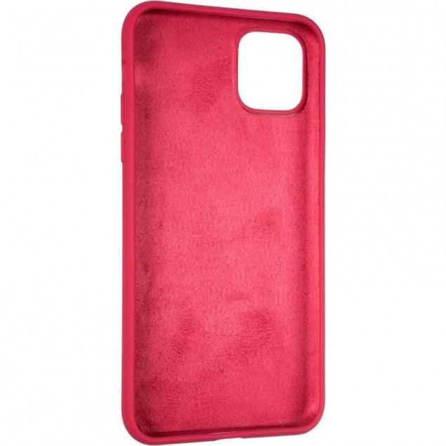 Original Full Soft Case for iPhone 11 Pro Max Garnet