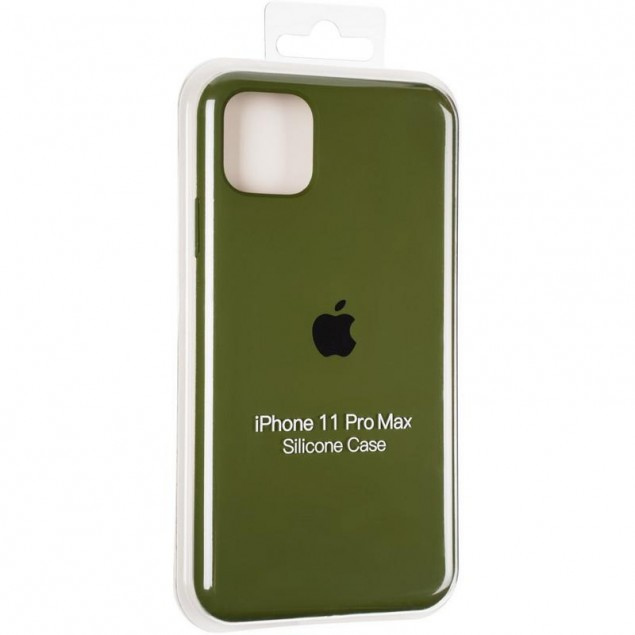 Original Full Soft Case for iPhone 11 Pro Max Pinery Green
