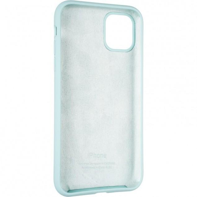 Original Full Soft Case for iPhone 11 Ice Sea Blue