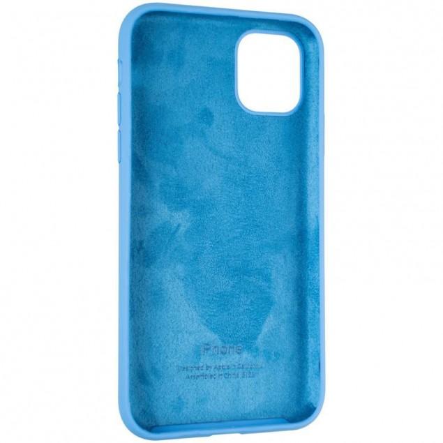 Original Full Soft Case for iPhone 11 Marine Blue