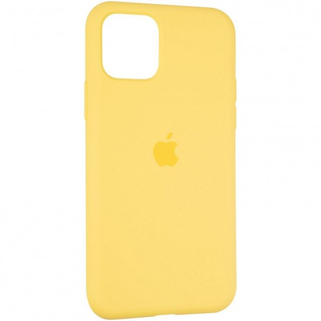 Original Full Soft Case for iPhone 11 Pro Canary Yellow