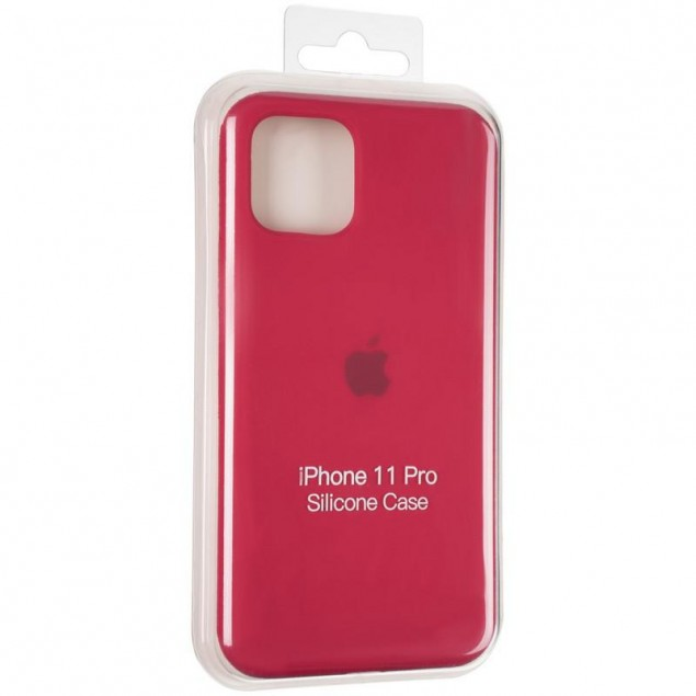 Original Full Soft Case for iPhone 11 Pro Garnet