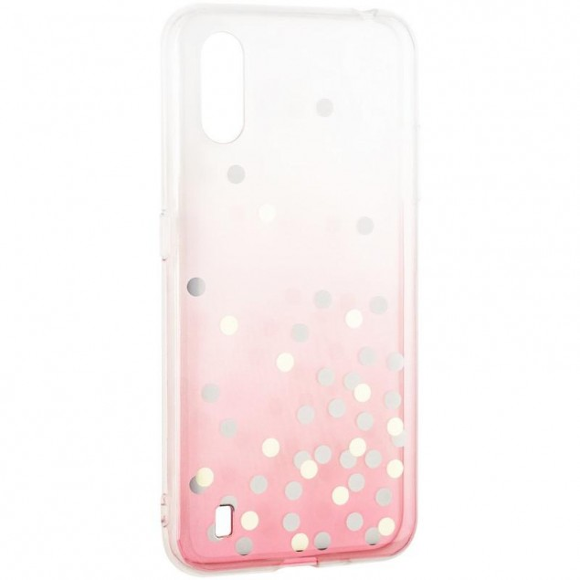 Crystal Shine Case for Samsung A015 (A01) Pink