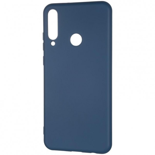 Full Soft Case for Huawei Y6P Blue