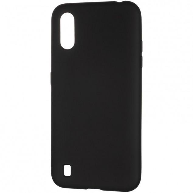 Full Soft Case for Samsung A015 (A01)/M015 (M01) Black