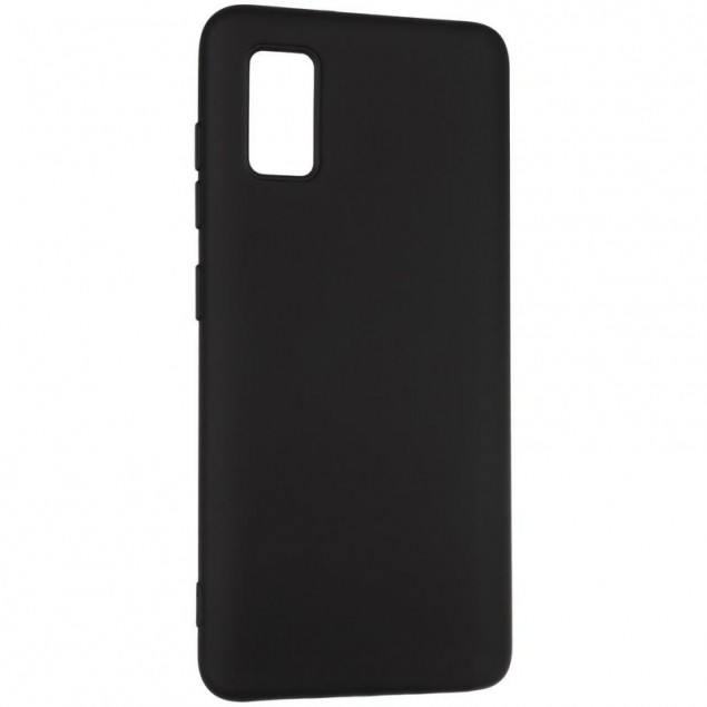 Full Soft Case for Samsung A415 (A41) Black