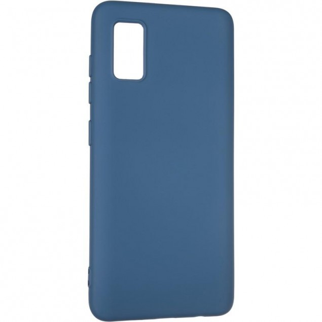 Full Soft Case for Samsung A415 (A41) Blue