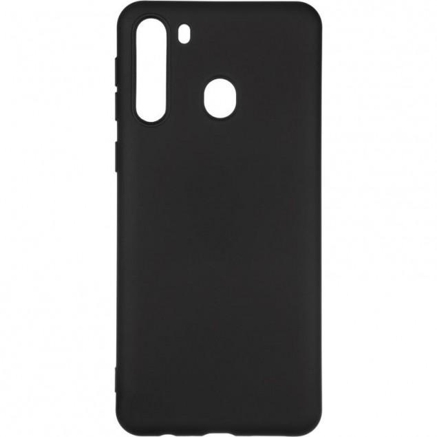 Full Soft Case for Samsung A215 (A21) Black