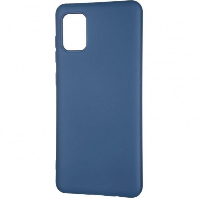Full Soft Case for Samsung A315 (A31) Blue