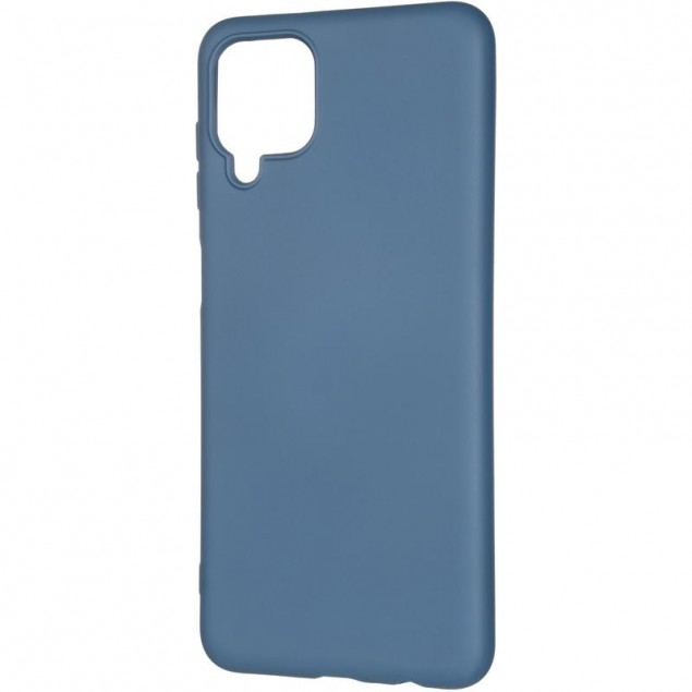 Full Soft Case for Samsung A125 (A12) Blue