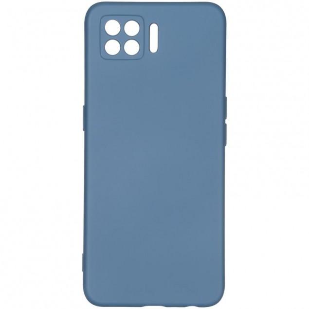 Full Soft Case for Oppo A73 Blue